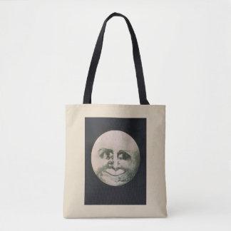 Bolsa Tote Ilusão óptica da lua - assim divertimento