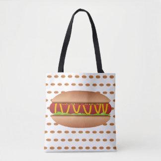 Bolsa Tote Imagem do Hotdog