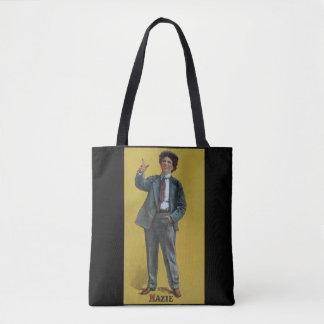Bolsa Tote Imagem do transporte do vaudeville do vintage de