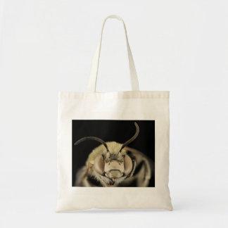 Bolsa Tote Imagem macro da abelha
