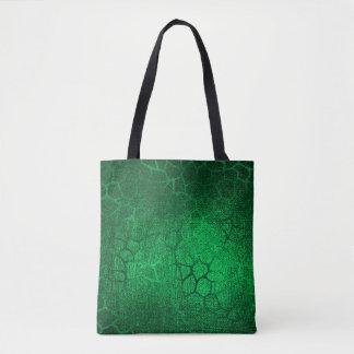 Bolsa Tote Impressão animal verde