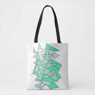 """Bolsa Tote Impressão da arte abstracta do """"pinho"""""""
