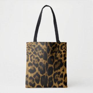 Bolsa Tote Impressão de Jaguar
