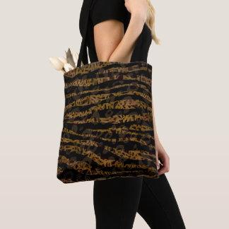 Bolsa Tote Impressão Glam da selva do safari elegante chique