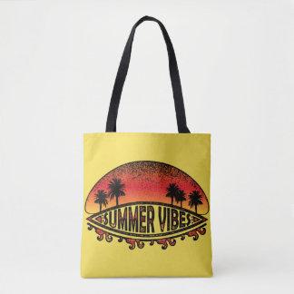 Bolsa Tote Impressões do verão - pôr do sol infinito