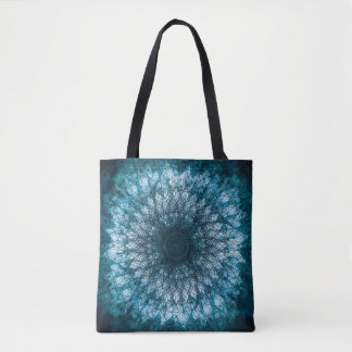Bolsa Tote Índigo Blue Mandala