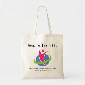 Bolsa Tote Inspire a sacola apta do trem