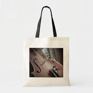 Bolsa Tote Instrumento amarrado da música clássica do