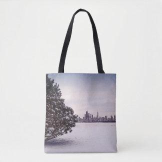 Bolsa Tote inverno bonito Chicago - sacolas