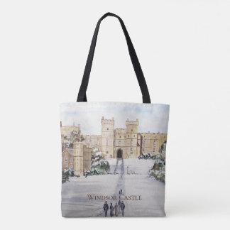 Bolsa Tote Inverno no castelo de Windsor pelo Greenfield de