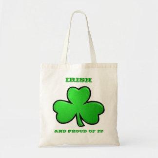 Bolsa Tote Irlandês e orgulhoso dele