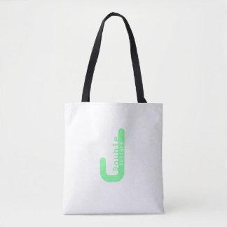 Bolsa Tote J dobro projeta o saco