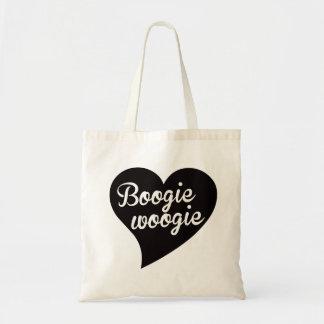Bolsa Tote Jade grande do coração de Woogie da dança