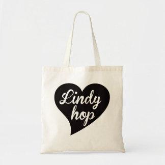 Bolsa Tote Jade grande do coração do salto de Lindy