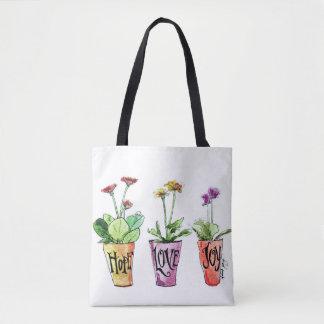 Bolsa Tote Jardineiro inspirado bonito da sacola