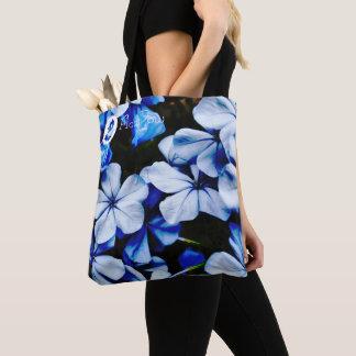 Bolsa Tote ~ Jay azul do Plumbago de FʟᴏᴡPᴏᴡ |