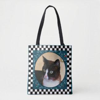 Bolsa Tote Joaninhas de observação do Gatinho-Gato curioso