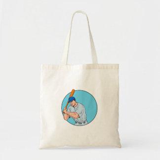 Bolsa Tote Jogador de beisebol que guardara o desenho do