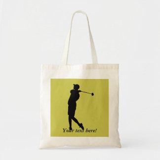 Bolsa Tote Jogador de golfe