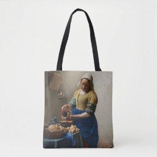 Bolsa Tote JOHANNES VERMEER - O milkmaid 1658