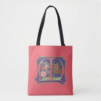 Bolsa Tote Joust medieval