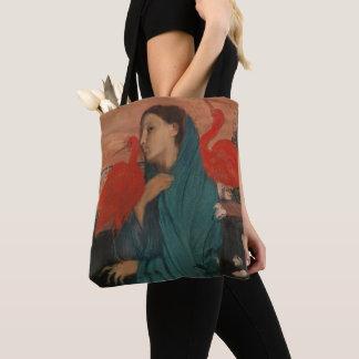 Bolsa Tote Jovem mulher com íbis