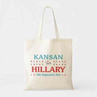 Bolsa Tote Kansan para Hillary