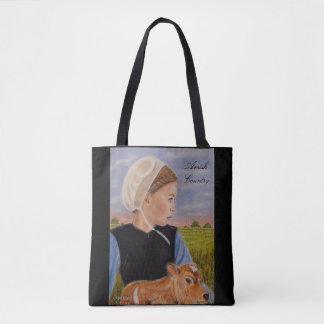 Bolsa Tote Kathryn na sacola temático de Amish do prado