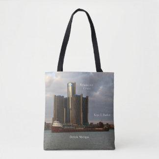 Bolsa Tote Kaye E. Ladrador & CEN Detroit de Ren por todo o