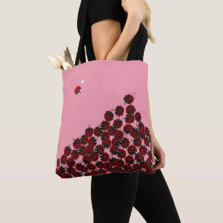 Bolsa Tote La Coccinelle - um lugar aglomerado no rosa?