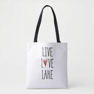 Bolsa Tote Lago vivo love