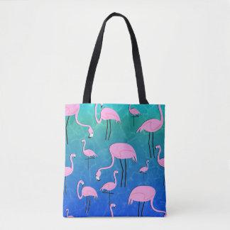 Bolsa Tote Lagoa do flamingo