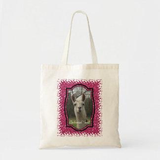 Bolsa Tote Lama brilhante Sparkling de N no rosa quente