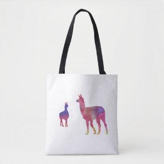 Bolsa Tote Lamas