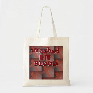 Bolsa Tote Lavado na sacola do sangue