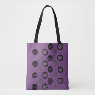 Bolsa Tote Lavanda com pontos! saco original