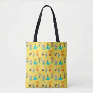 Bolsa Tote Leão animal do macaco do elefante do selo do