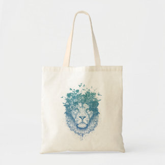 Bolsa Tote Leão floral