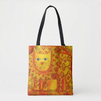 Bolsa Tote Leão modelado