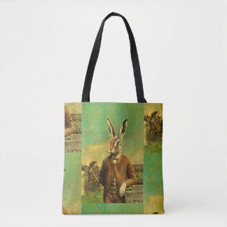 Bolsa Tote Lebre do Victorian por todo o lado na sacola do