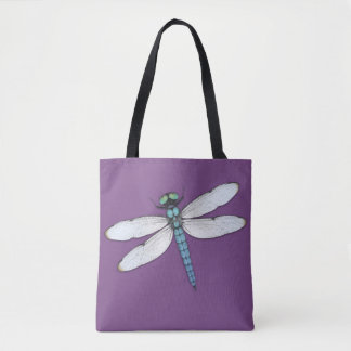 Bolsa Tote Libélula azul