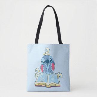 Bolsa Tote Lilo & costura   que lêem o patinho feio