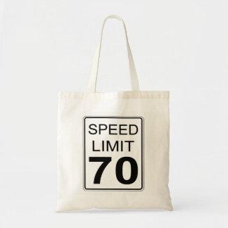 Bolsa Tote Limite de velocidade