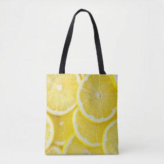 Bolsa Tote Limões amarelos da fatia