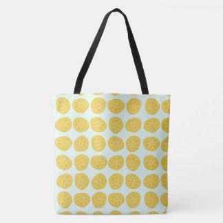 Bolsa Tote Limões por os dias - sacola - grandes