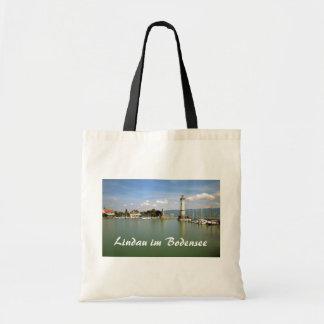 Bolsa Tote Lindau im Bodensee, lembrança de Alemanha