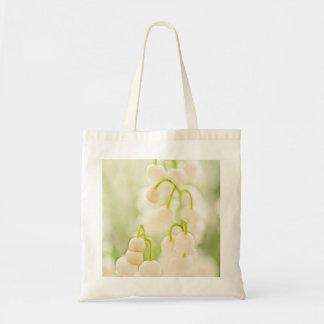 Bolsa Tote Lírio das flores do vale