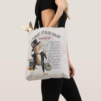 Bolsa Tote Lista de compra Sewing engraçada do Stash do
