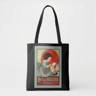 Bolsa Tote Livro da pintura de Bettys