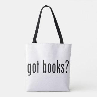 Bolsa Tote livros obtidos? Sacola